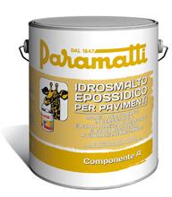 IDROSMALTO EPOSSIDICO PER PAVIMENTI COMPONENTE A