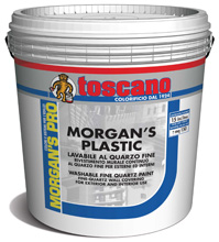 MORGAN'S PLASTIC LAVABILE AL QUARZO FINE