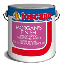 MORGAN'S FINISH